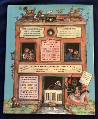 CHARLES DICKENS AND FRIENDS; retold and illustrated by Marcia Williams