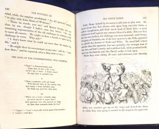 """THE SCOURING OF THE WHITE HORSE; or, the Long Vacation Ramble of a London Clerk / By the Author of """"Tom Brown's School Days."""" / Old and New / Illustrated by Richard Doyle"""