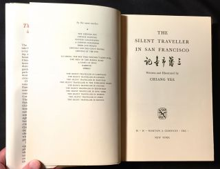 THE SILENT TRAVELER IN SAN FRANCISCO; Written and Illustrated by CHIANG LEE