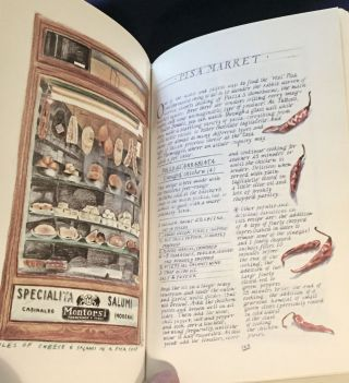 A TASTE OF TUSCANY; Classic Recipes from the Heart of Italy / Collected and Illustrated by Leslie Forbes