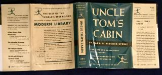 UNCLE TOM'S CABIN; Or, Life Among the Lowly / By Harriet Beecher Stowe / With an Introduction by Raymond Weaver