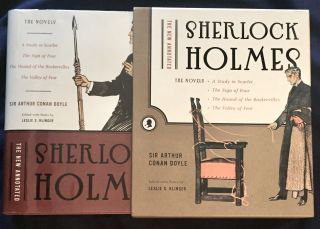 THE NEW ANNOTATED SHERLOCK HOLMES; The Novels / A Study in Scarlet / The Sign of the Four / The...