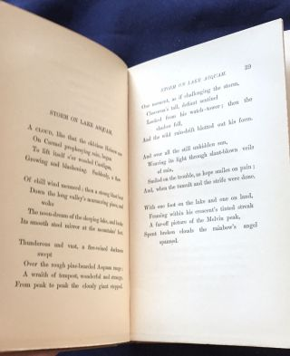THE BAY OF SEVEN ISLANDS; And Other Poems / By John Greenleaf Whittier