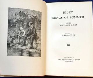 SONGS OF SUMMER; Illustrated by Will Vawter