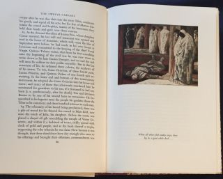 LIVES OF THE TWELVE CAESARS; The Translation by Philemon Holland Revised for the Present Edition, With an Introduction by Moses Hadas and Illustrated with Paintings by Salvatore Fiume