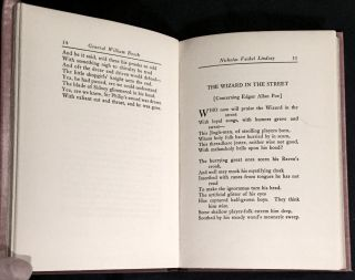 GENERAL WILLIAM BOOTH ENTERS INTO HEAVEN; And Other Poems by / Nicholas Vachel Lindsay