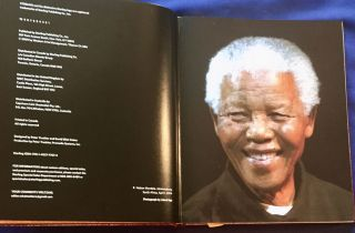 NELSON MANDELA; A Life in Photographs / Created by David Elliot Cohen / Text by John D. Battersby / Includes Six Historic Mandela Speeches