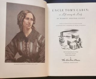 UNCLE TOM'S CABIN; or, Life among the Lowly By Harriet Beecher Stowe / With an Introduction by...