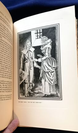 The Fortunes and Misfortunes of the Famous MOLL FLANDERS ; Who was Born in Newgate, and during a Life of continu'd Variety for Threescore Years, besides her Childhood, was Twelve Year a Whore, five times a Wife (whereof once to her own Brother), Twelve Year a Thief, Eight Year a Transported Felon in Virginia, at last grew Rih, liv'd Honest, and died a Penitent, Written from her own Memorandums... by DANIEL DEFOE / A New Edition With Illustrations and Decorations by JOHN AUSTEN / And an Introduction by W. H. Davies