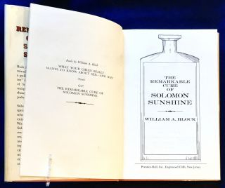 THE REMARKABLE CURE OF SOLOMON SUNSHINE