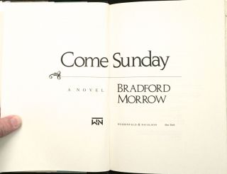 COME SUNDAY; A Novel