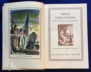 GREAT EXPECTATIONS; By Charles Dickens / Illustrated by Edward Ardizzone. Charles Dickens