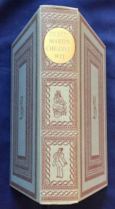 THE LIFE AND ADVENTURES OF MARTIN CHUZZLEWIT; His relatives, friends and enemies: comprising all his wills and ways; the whole forming a complete key to The House of Chuzzlewit / By Charles Dickens / With a New Introduction by John T. Winterich and Illustrations by Wray Manning. Illustrations by Phiz.