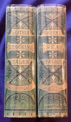 LEATHER STOCKING TALES & COOPER'S SEA TALES; By James Fennimore Cooper / Illustrated from...