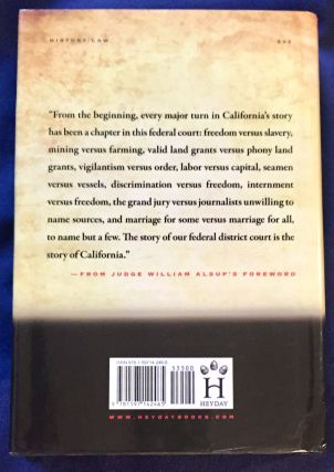 THE COURT THAT TAMED THE WEST; From the Gold Rush to the Tech Boom / Foreword by Judge William Alsup