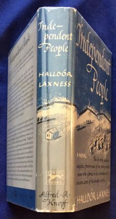INDEPENDENT PEOPLE: An Epic / By Halldór Laxness / Translated from the Icelandic by J. A. Thompson;