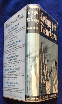 DESIGN FOR TREACHERY; By Clare Casler Saunders
