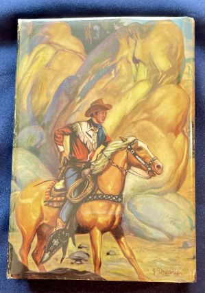 ROY ROGERS AND THE BANDITS OF SAWTOOTH RIDGE; An original story featuring Roy Rogers famous motion picture star as the hero / By Snowdon Miller / Illustrated by Henry E. Vallely / Authorized Edition