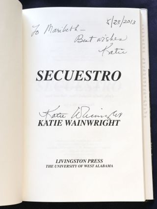 SECUESTRO [KIDNAPPING]