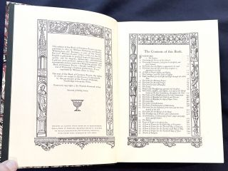 THE BOOK OF COMMON PRAYER; ...With the Psalter ... / Ornamented with Wood Cuts from designs of Albert Durer, Hans Holbein and Others. / In Imitation of Queen Elizabeth's Book of Christian Prayers. / With a Foreword by Sir Patrick Cormack.
