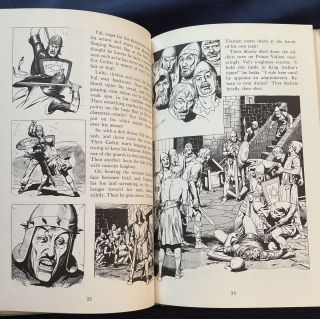 PRINCE VALIANT; And the Three Challenges / By Harold Foster / [Seal: Prince Valiant Book 7]