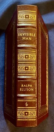 INVISIBLE MAN; Ralph Ellison / Illustrated by Peter Fiori / Collector's Edition / Bound in Genuine Leather