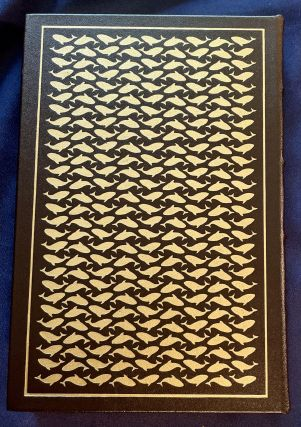 TWENTY THOUSAND LEAGUES UNDER THE SEA; By Jules Verne / The English version made from the French by Mercier Lewis, with a new Introduction by Flletcher Pratt, and will illustrations by Edward A. Wilson / The 100 Greatest Books Even Written / Collectors Edition / Bound in Genuine Leather