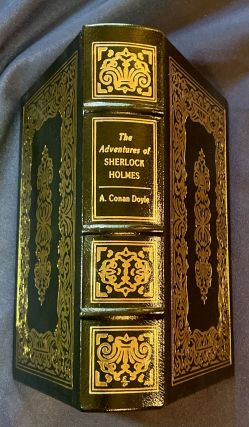 ADVENTURES OF SHERLOCK HOLMES; A Definitive Text, Corrected and Edited by Edgar W. Smith, with an Introduction by Vincent Starrett, and Illustrated with a Selective Collation of the Original Illustrations by Frederic Dorr Steele, Sidney Paget and Others / The 100 Greatest Books Ever Written / Collector's Edition/ Bound in Genuine Leather