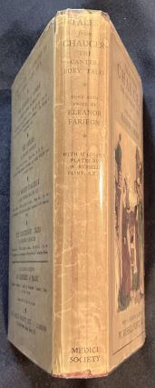 TALES FROM CHAUCER; The Canterbury Tales Done Into Prose by Eleanor Farjeon / With 12 Plates in Colour by W. Russell Flint, A.R.A.