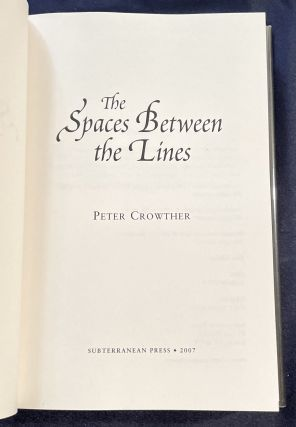 THE SPACES BETWEEN THE LINES
