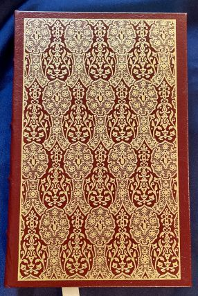 THE DIVINE COMEDY; Translated into English Verse by Melville Best Anderson; with Notes and Elucidations by the Translator, An Introduction by Arthur Livingston, and Thirty-Two Illustrations by William Blake / The 100 Greatest Books Ever Written / Collector's Edition / Bound in Genuine Leather