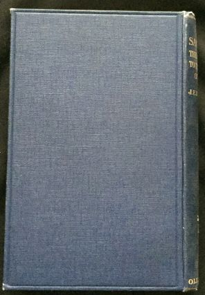 THE SAMARITANS; Their Testimony to the Religion of Israel / Being the Alexander Robertson Lectures, delivered before the University of Glasgow in 1916 / by Rev. J. E. H. Thomson, D.D.