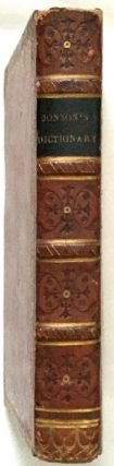 JOHNSON'S DICTIONARY OF THE ENGLISH LANGUAGE, IN MINIATURE; To which are added, an Alphabetical...